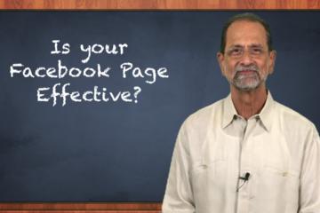Video Marketing Pearl of the Week - Facebook Effectiveness