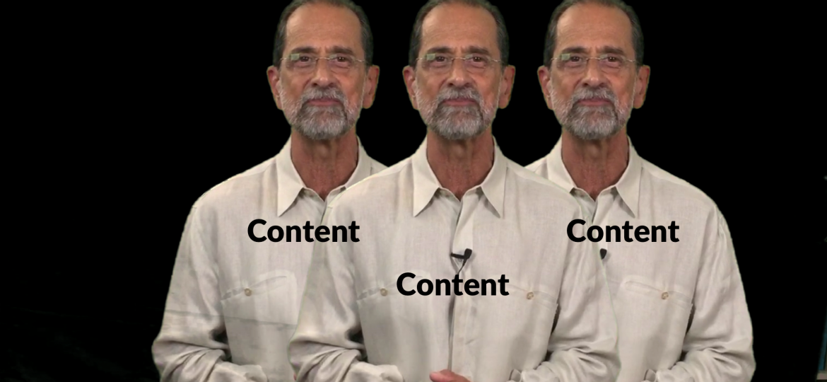 Video Marketing Pearl of the Week – Content Content Content
