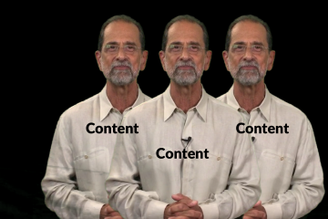 Video Marketing Pearl of the Week - Content Content Content