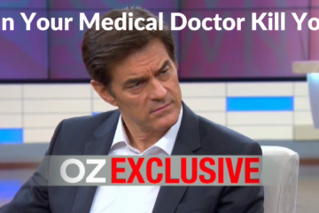 Picture of Dr. Oz to emphasis his sensationalized headlines.